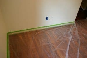 Covering your floor for painting