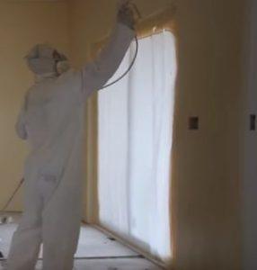 paint sprayer to bedroom